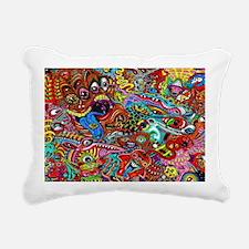 Abstract Painting Rectangular Canvas Pillow