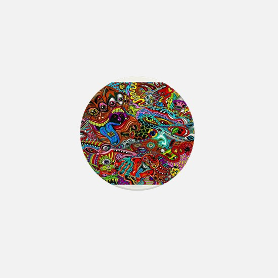 Abstract Painting Mini Button (100 pack)
