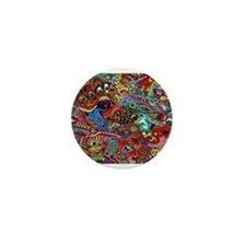 Abstract Painting Mini Button