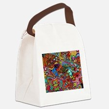 Abstract Painting Canvas Lunch Bag