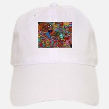 Abstract Painting Baseball Baseball Cap