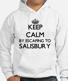 Keep calm by escaping to Salisbu Hoodie