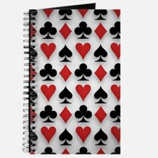 Spades Clubs Diamonds and Hearts Journal