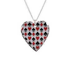 Spades Clubs Diamonds and Hearts Necklace