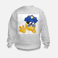 police emoji Sweatshirt