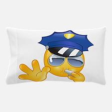 police emoji Pillow Case