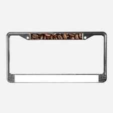 Coffee Beans License Plate Frame
