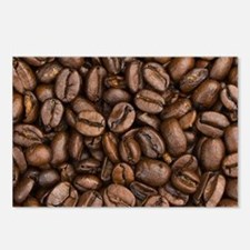 Coffee Beans Postcards (Package of 8)