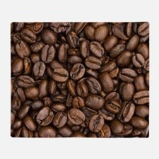 Coffee Beans Throw Blanket
