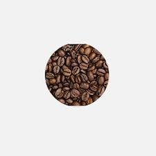Coffee Beans Mini Button