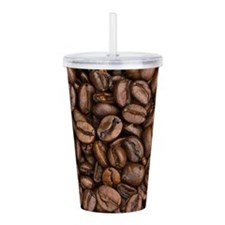 Coffee Beans Acrylic Double-wall Tumbler