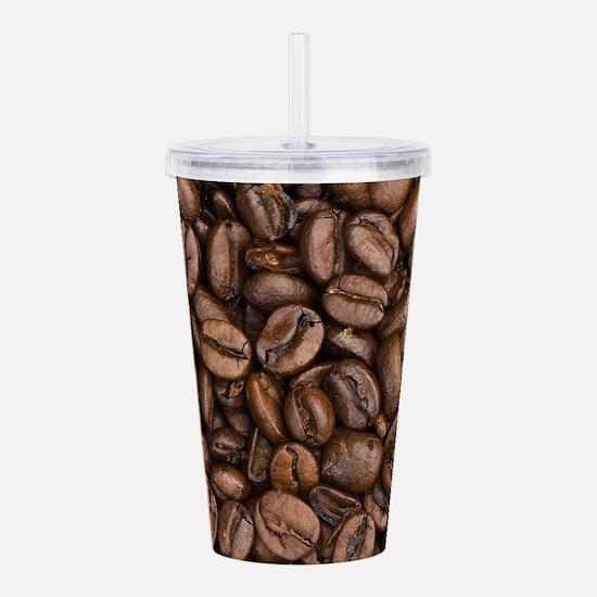 Coffee Beans Acrylic Double-wall Tumbler