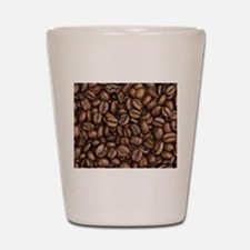 Coffee Beans Shot Glass