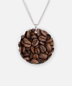 Coffee Beans Necklace