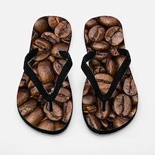 Coffee Beans Flip Flops