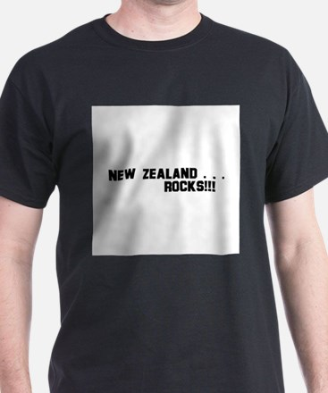 New Zealand . . . Rocks! T-Shirt