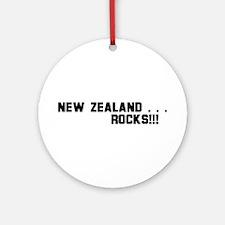 New Zealand . . . Rocks! Ornament (Round)