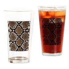 Snake Skin Drinking Glass