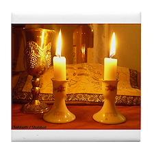 The Sabbath - Shabbat Tile Coaster