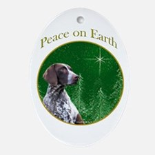 GSP Peace Oval Ornament