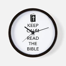 Read Bible Wall Clock