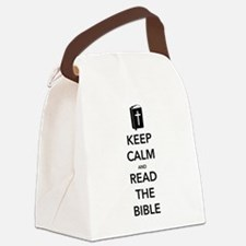 Read Bible Canvas Lunch Bag