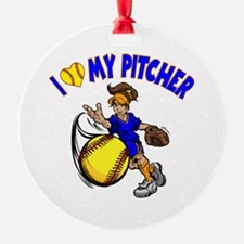 I love my pitcher, by Ornament