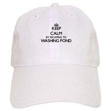 Keep calm by escaping to Washing Pond Massachu Baseball Cap
