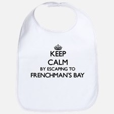 Keep calm by escaping to Frenchman'S Bay Virgi Bib