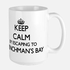 Keep calm by escaping to Frenchman'S Bay Virg Mugs