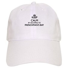 Keep calm by escaping to Frenchman'S Bay Virgi Baseball Cap