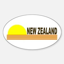 New Zealand Oval Decal