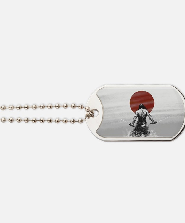 Samurai Glory Dog Tags
