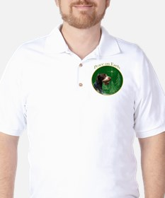 Wirehaired Peace Golf Shirt