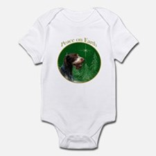 Wirehaired Peace Infant Bodysuit