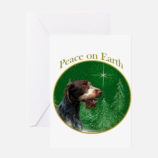Wirehaired Peace Greeting Card