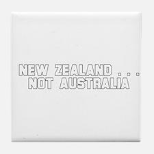 New Zealand . . . Not Austral Tile Coaster