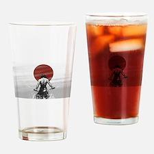 Samurai Glory Drinking Glass