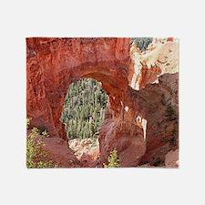 Natural Bridge Arch, Bryce Canyon, U Throw Blanket