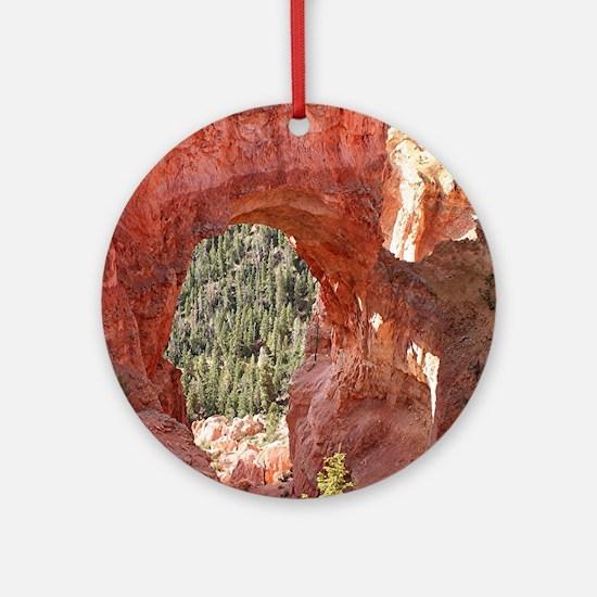 Natural Bridge Arch, Bryce Canyon,  Round Ornament