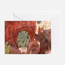 Natural Bridge Arch, Bryce Canyon, U Greeting Card