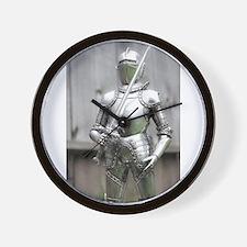 Shining Armor Wall Clock