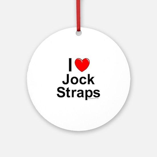 Jock Straps Ornament (Round)