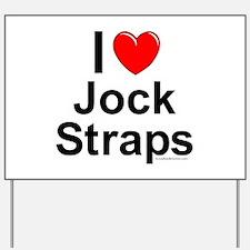 Jock Straps Yard Sign