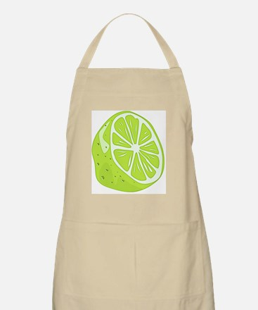Tropical Summer Lime Apron
