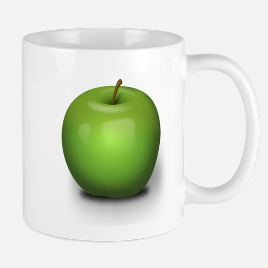 Green Apple Fruit Mugs