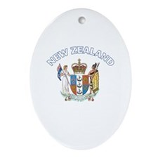 New Zealand Oval Ornament