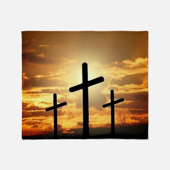 The Cross Throw Blanket