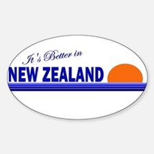 Its Better in New Zealand Oval Decal