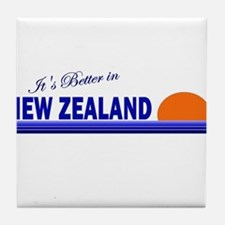 Its Better in New Zealand Tile Coaster